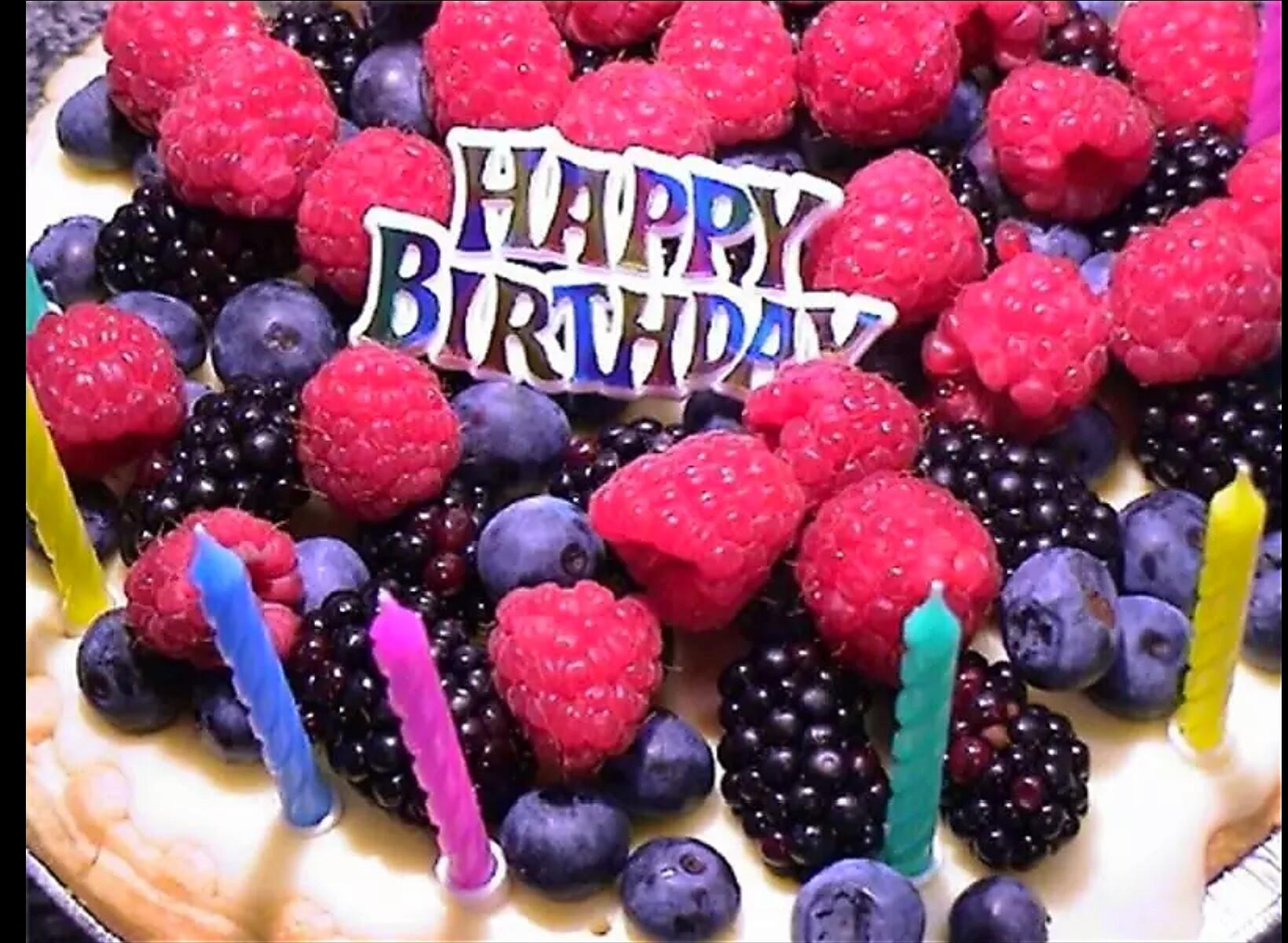 Сладкое поздравление с днем рождения девушке